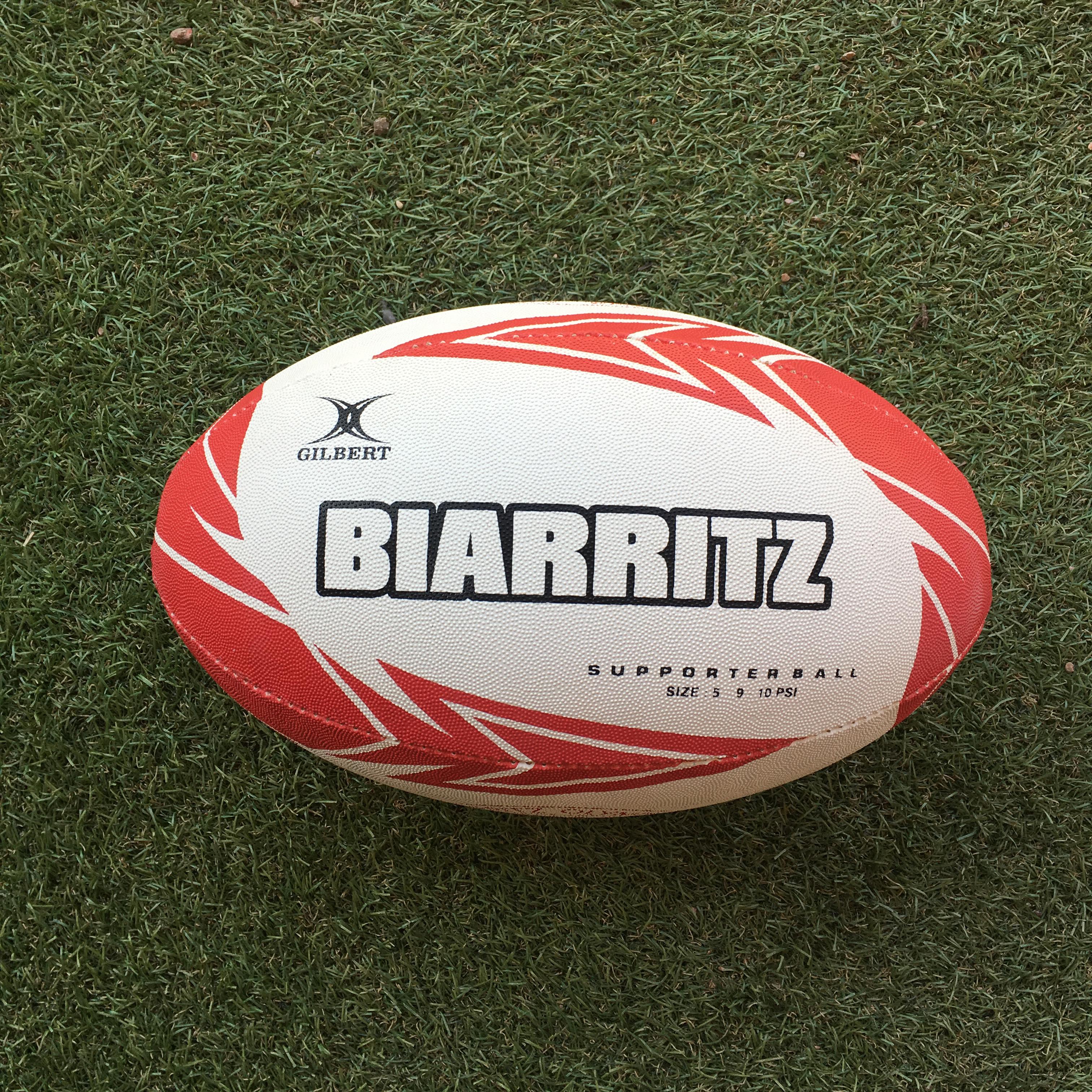 28d66a437cc5a Pelota De Rugby Biarritz Gilbert – Nro 5
